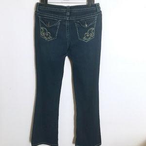 A.N.A. Modern Fit Darker Stretch Boot Jeans 12